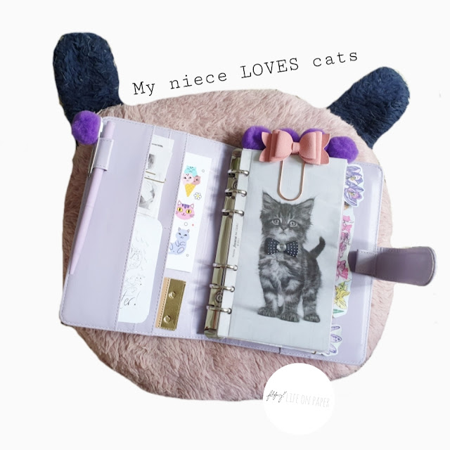 Kids Cat Themed Filofax Planner Haul