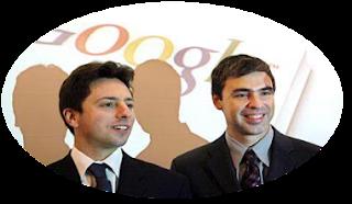 Google Larry Page  Sergey Brin