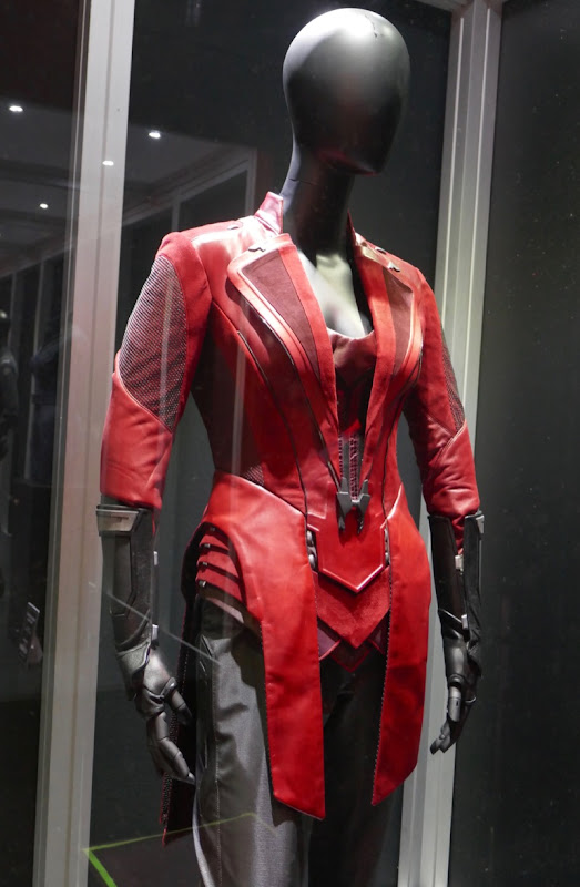 Scarlet Witch Avengers Age Ultron film costume