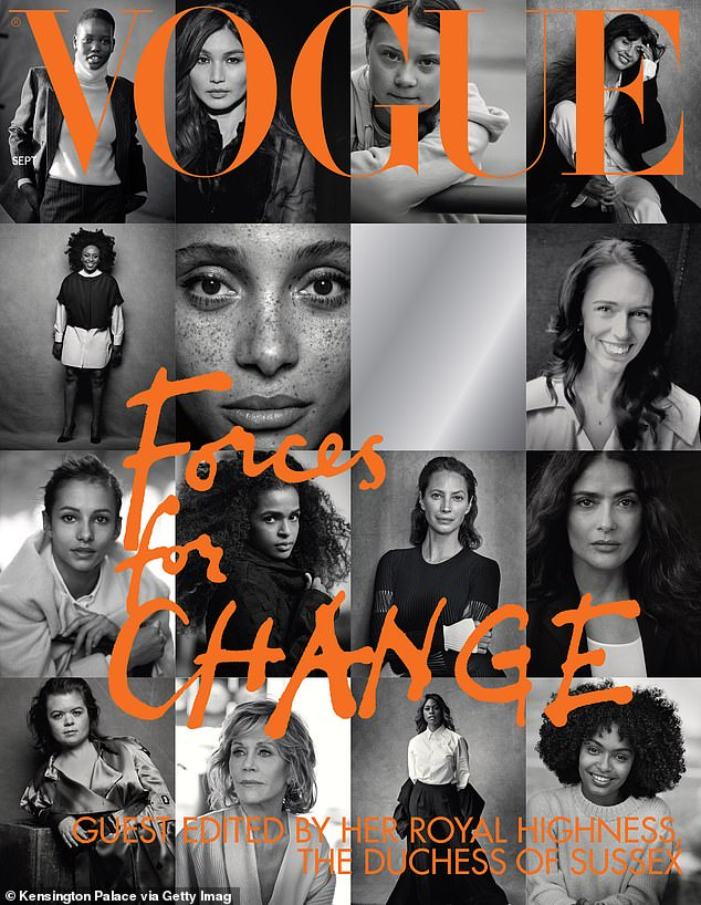 Meghan Markle's Vogue issue about 'trailblazing' women