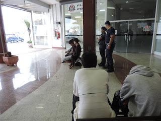 Pichadores são detidos por Guardas Municipais de Jundiaí no centro da cidade