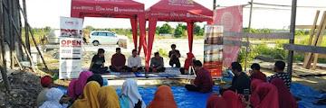 Rian D'masiv Menyempatkan Bersilaturahmi di Lokasi Pesantren Daarul Qur'an Kaltara