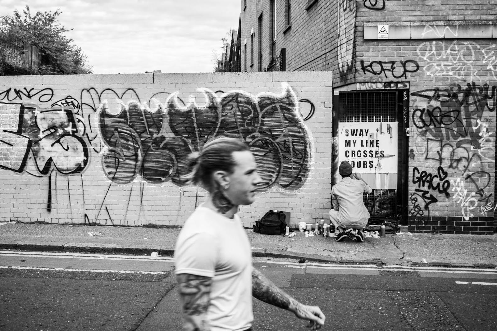 Shoreditch London Tattoo Man