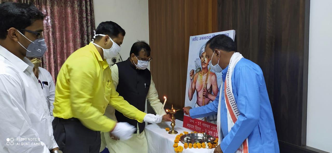 Jhabua News-145वीं जयंती पर याद किए गए भगवान बिरसा मुंडा