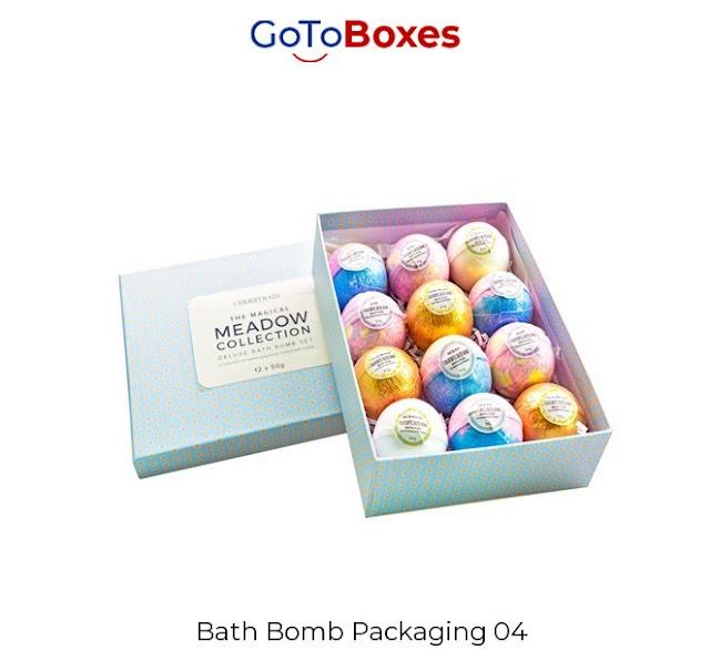 Eco-friendly Bath Bomb Packaging