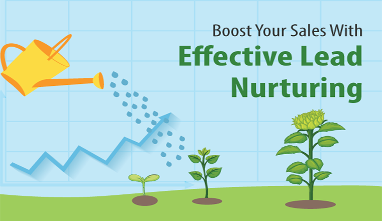 Boost Your Sales With Effective Lead Nurturing #infographic