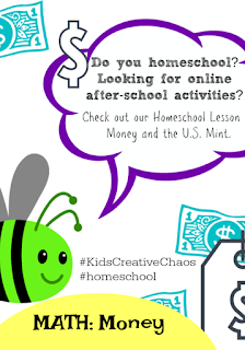 Money Lesson Plan Curriculum for Homeschooling Budgeting US MINT