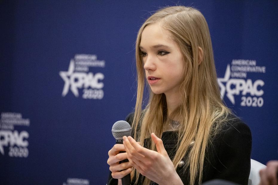 Alemã de 19 anos revela como a narrativa de mudança climática é enganosa