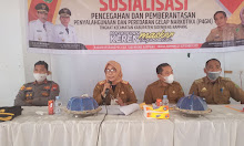 Kesbangpol Sidrap Adakan Sosialisasi P4GN Di Rappang