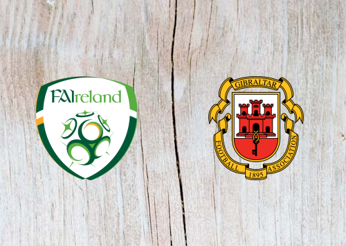 Republic of Ireland vs Gibraltar - Highlights 10 June 2019