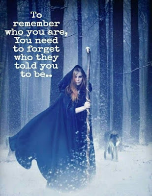 to remember who you are, you have to forget who they told you to be