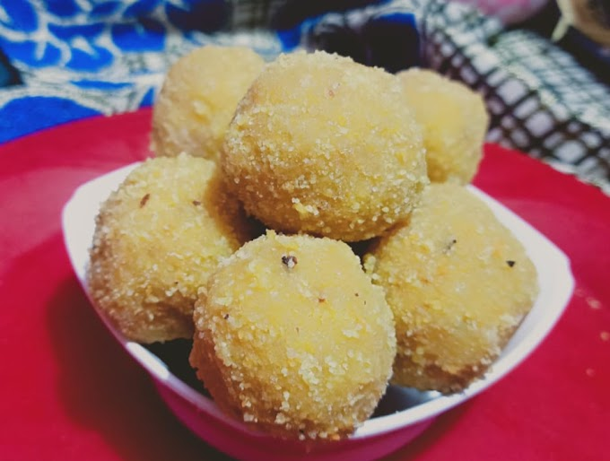 How to make besan ladoo at home   Besan ladoo recipe  