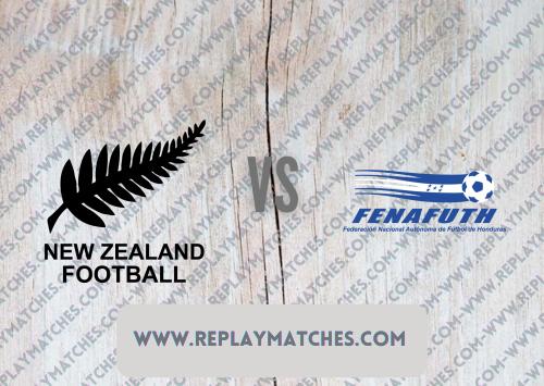 New Zealand U23 vs Honduras U23 -Highlights 25 July 2021