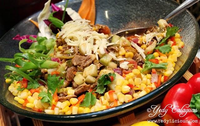 Tex-Mex Steak Fajita Salad
