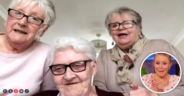 Abuelitas se mudan juntas para pasar la cuarentena entre amigas
