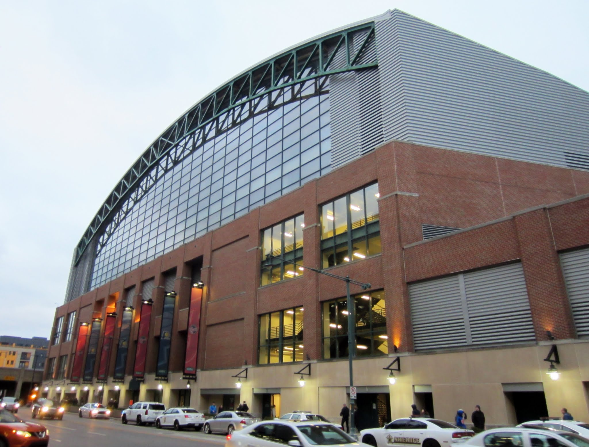 Exterior of Bankers Life Fieldhouse
