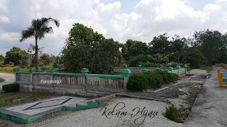 Objek Wisata Riau - Kolam Hijau Kabupaten Siak