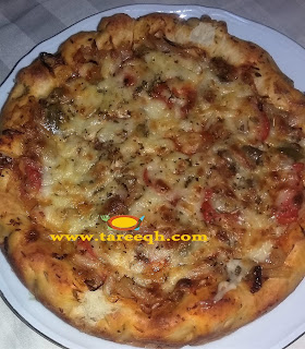 بيتزا المقلاة السريعة