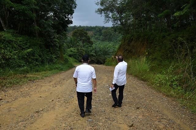 Edy Rahmayadi Targetkan Jalan Trans Palas-Madina Rampung 2022