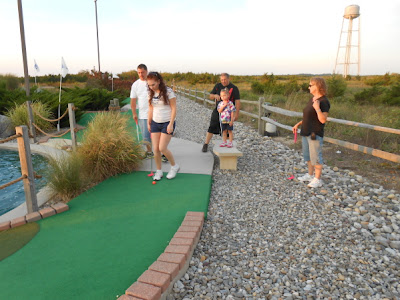 Miniature Golf at Sunset Beach in Cape May New Jersey