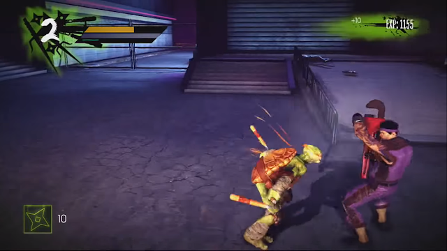 لعبة سلاحف النينجا Ninja Turtles