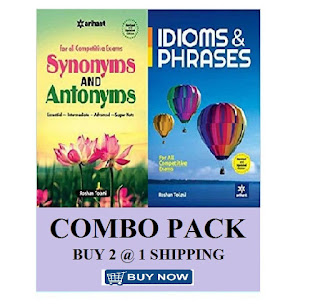 Arihant Synonyms Antonyms and Idioms Phrase (English, Roshan Tolani)