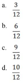 persamaan pecahan 3 dibagi 4