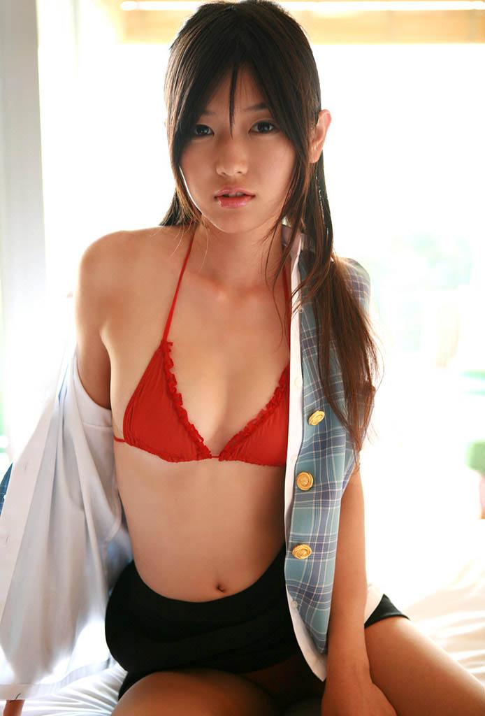 noriko kijima sexy schoolgirl bikini pics
