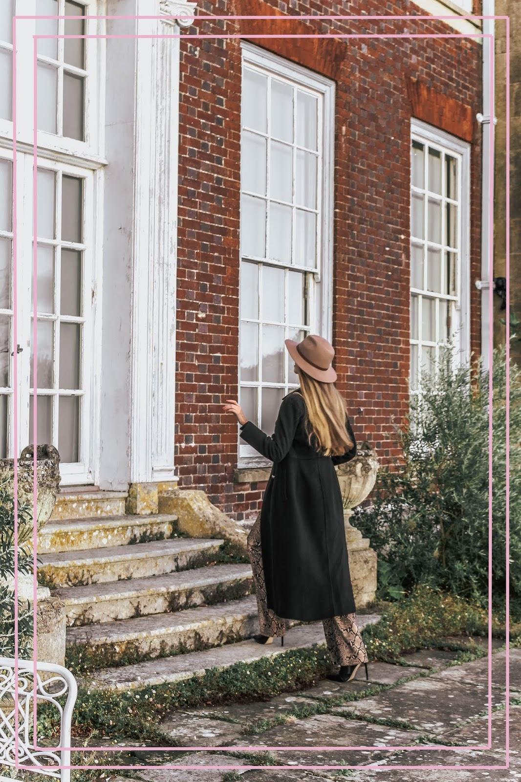Walking into British Manor House