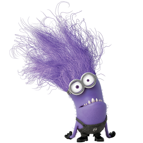 Free coloring pages of minions morado