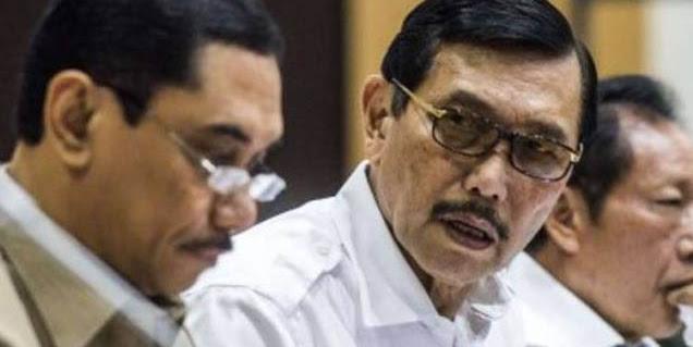 Uhuk uhuk, Luhut Berharap Jokowi Dua Periode