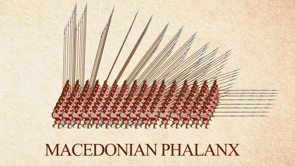 Philipp II. von Makedonien und seine Makedonische Phalanx
