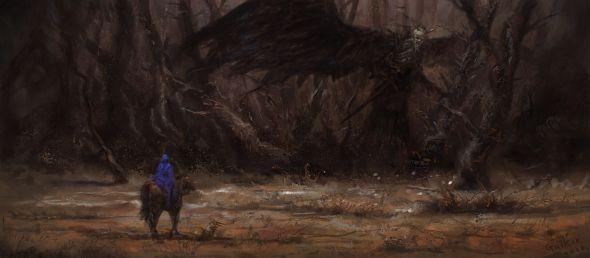 Igor Galkin artstation deviantart arte ilustrações fantasia sombria terror