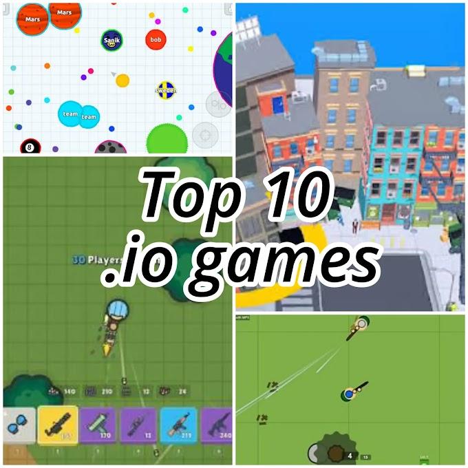 Online io games 2020