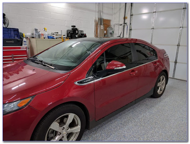 Chevy Volt TINTED WINDOWS