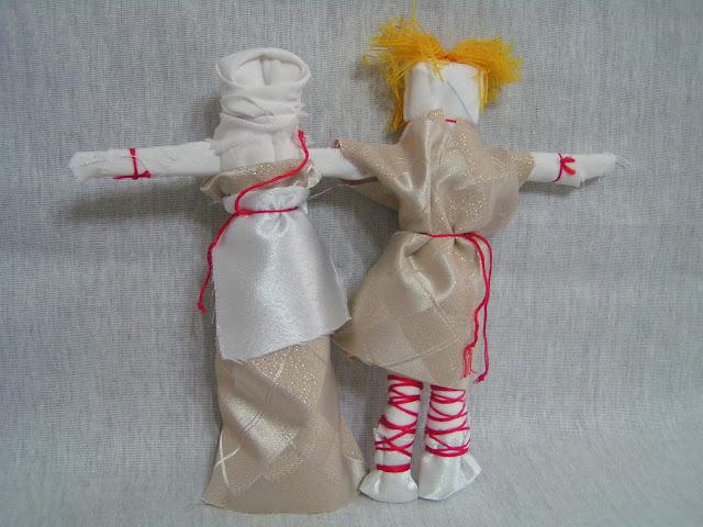 Фото куклы для подарка молодоженам в старину
