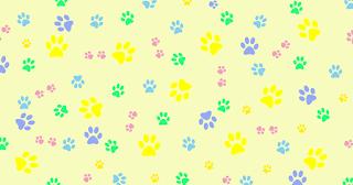 Textura patinhas - Criação Blog PNG-Free