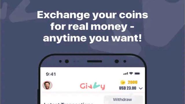 Earn Money Givvy