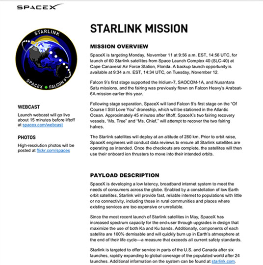 Well, the lights seem to be the Starlink Satellites just launched from KSC (Source: SpaceX.com)