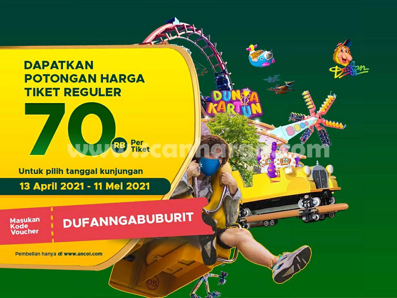 Promo DUFAN NGABUBURIT dengan Kode Voucher cuma Rp 130.000