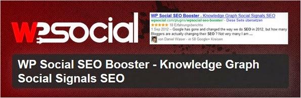 WP Social SEO Booster plugin for WordPress