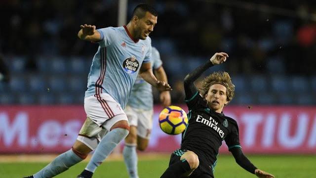 Madrid Diimbangi Celta Vigo 2-2
