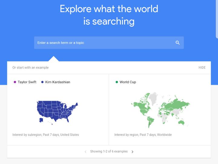 Google Trends - Rank on Google using free SEO tools