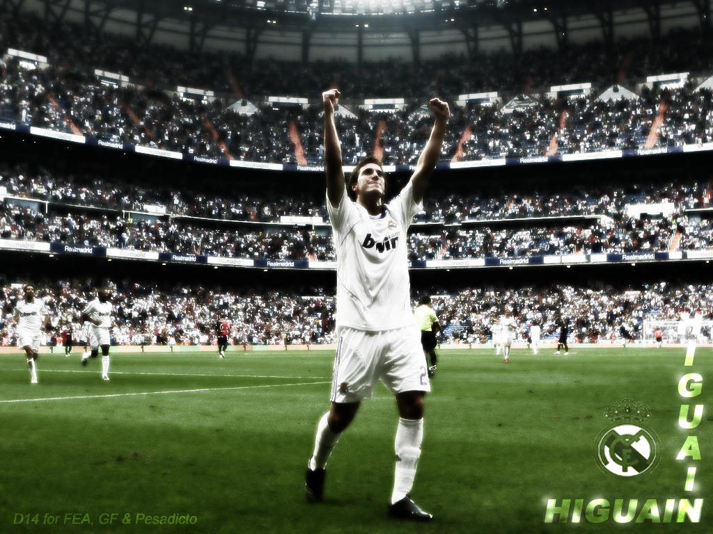 Wallpapers Hd Real Madrid Wallpaper Free Picture Gonzalo Higuain Wallpaper 2011
