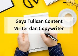 Jenjang karir copywriter dan content writer