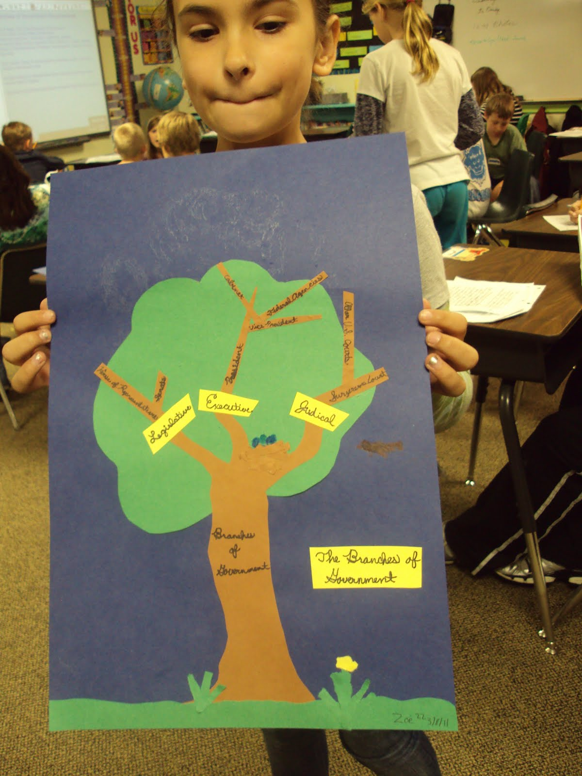 Fourth Grade Shout Out Three Branches Of Government