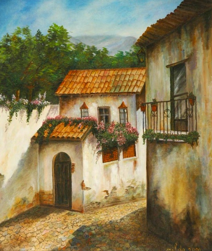 Imágenes Arte Pinturas: DIBUJOS PAISAJES AL OLEO