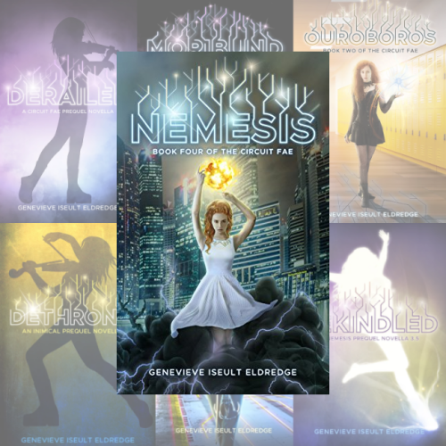 The Circuit Fae Series by Genevieve Iseult Eldredge
