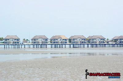 Pantai Bagan Lalang Gold Coast View
