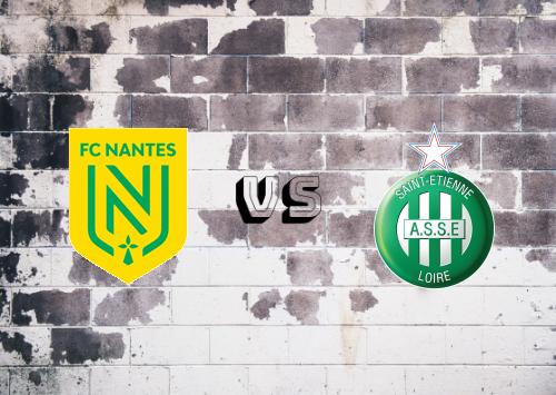 Nantes vs Saint-Étienne  Resumen